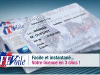 Prenez votre licence automatiquement sur notre site dans l&#...